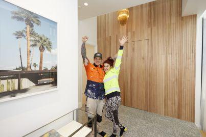 The Block 2020: Design experts critique laundry and hallway reveals