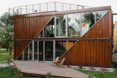 How this stylish house was created from six shipping containers