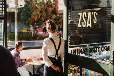 Out for lunch: Find a spritz with your name on it at Zsa's in Northcote