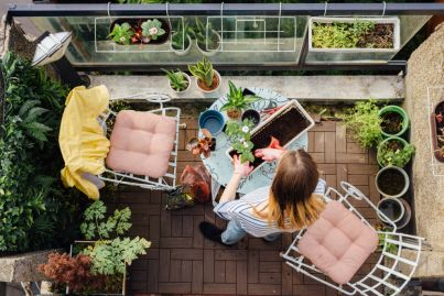 Turning your small apartment balcony into a serene green space