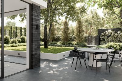 Nestled in natural beauty at No.8 Grattan in Hawthorn