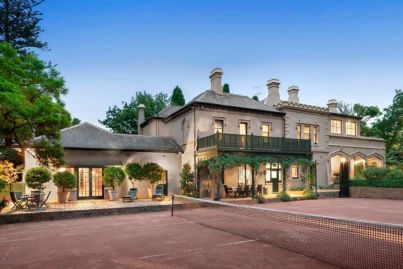For $10,000 a week you can rent this Melbourne mansion, complete with private ballroom