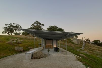 Shack on the Rocks in Victoria's south-west exemplifies beauty in bare simplicity