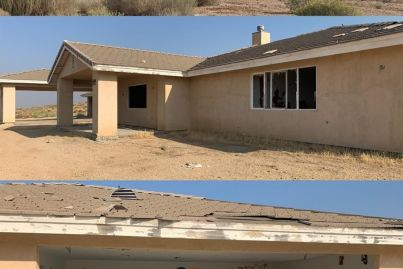 This house was built by mistake, in a desert, 14 years ago