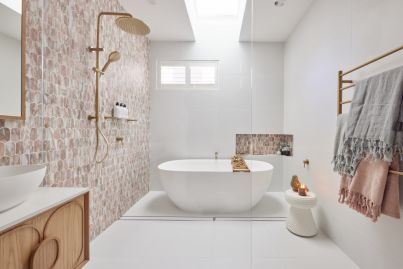 The Block 2021: How to design a dreamy yet functional bathroom