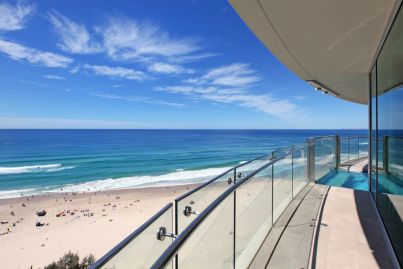 What's driving the high demand for luxury apartments in Queensland's top spots