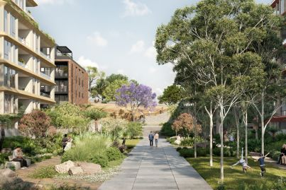 New residential development hits the market on the former Nine Network site