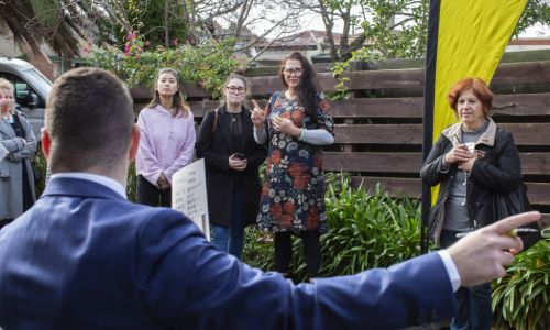 Nervous first-home buyers slip up in error-riddled Fitzroy North auction