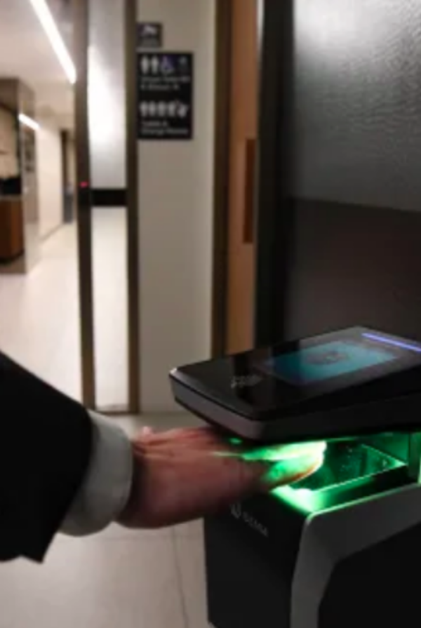 Hand scanning opens door to new world of offices