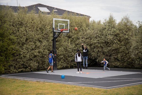 Installing A Basketball Court