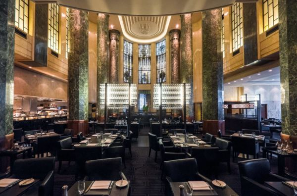 Building that houses Rockpool restaurant in Sydney
