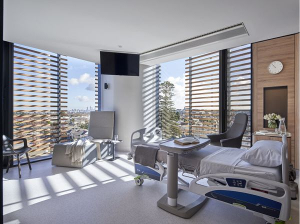How architects made this hospital wing feel more like a hotel