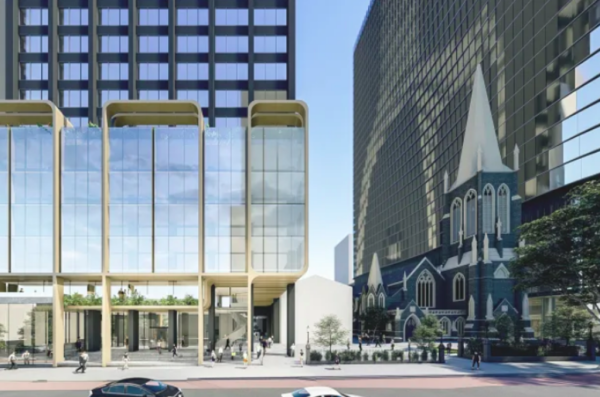 Final piece in the puzzle: facelift for Wesley Place tower