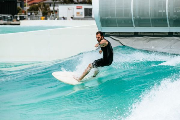 What is it like learning to surf at Australia