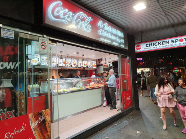 Kings Cross chicken shop on the market for the first time in 35 years