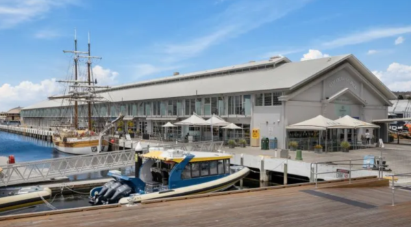 Historic Hobart pier sells as virus rattles local tourism sector