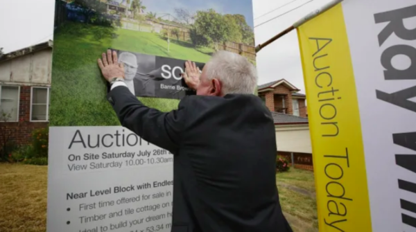 There will be a property market on the other side