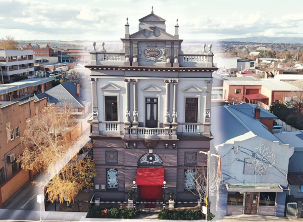 Historic former function centre in Bathurst on the market