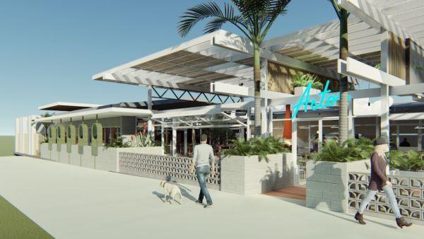 Regional motel gets multimillion-dollar Palm Springs-style facelift