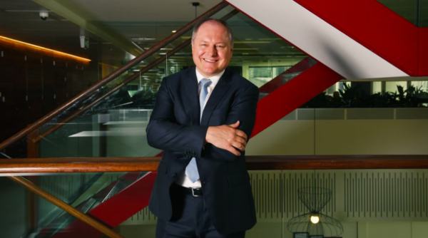Stockland cuts distribution as values fall, CEO to retire