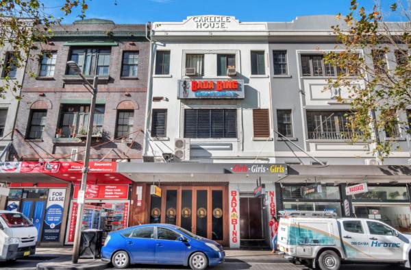Home of Bada Bing strip club in Sydney