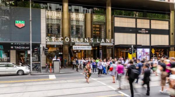 JPMorgan to sell Melbourne CBD mall at bargain basement price
