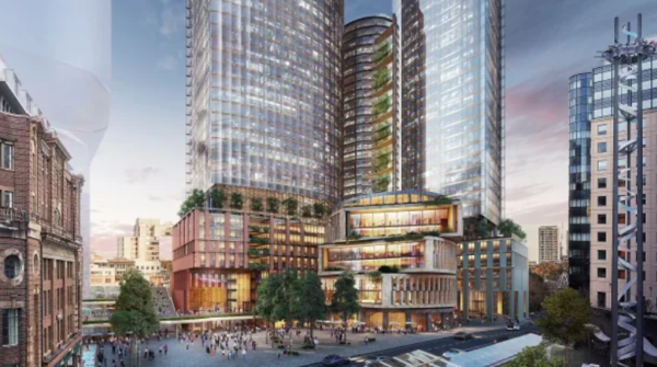 Dexus names architects to design $2.5b development