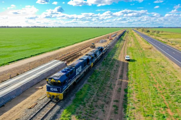 Inland Rail on track to attract investment and infrastructure