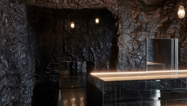 Pint-size jewellery gallery mimics ocean cave