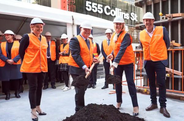 Amazon opens Collins Street door to office of the future