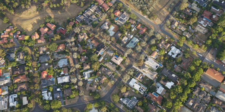 The eight regions across Australia where house prices are falling
