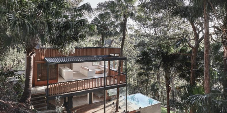 Seven homes see at inspection in Sydney this weekend, including a tree-top abode overlooking Pittwater