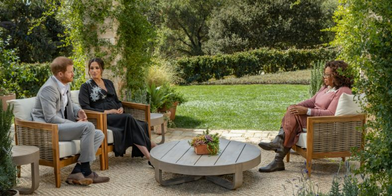 Inside Gayle King's California mansion hosting Meghan and Harry's chat with Oprah