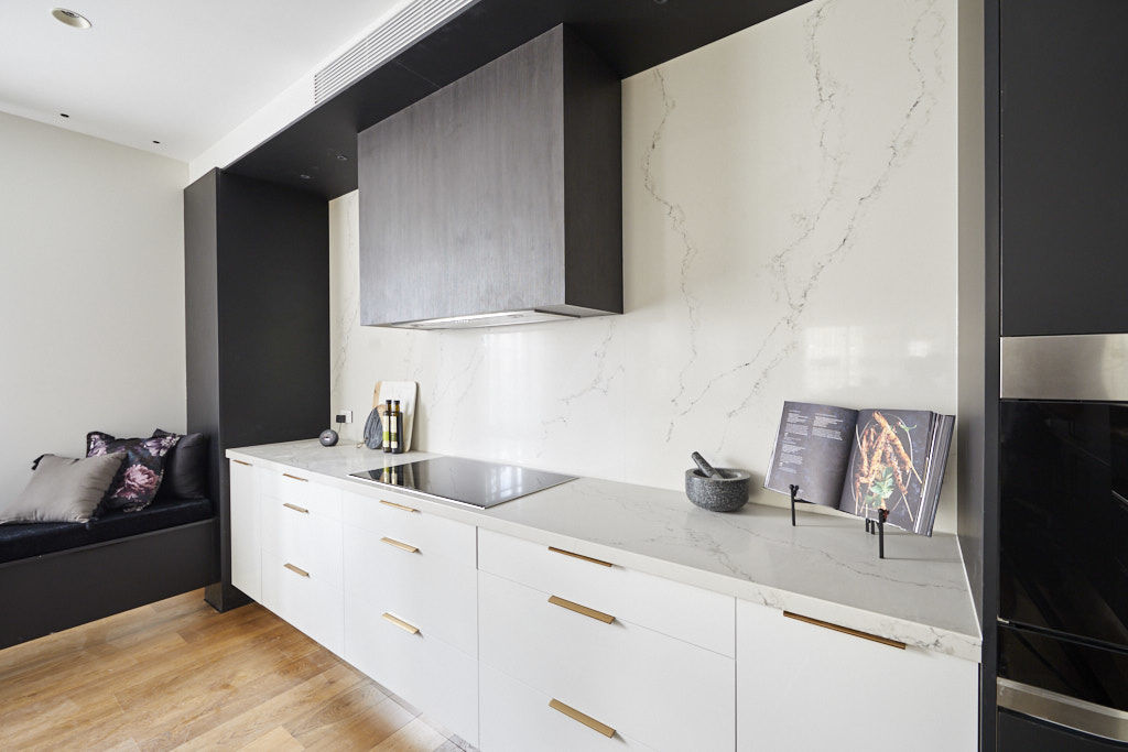 The kitchen was described as elegant by the judges. Photo: Channel Nine