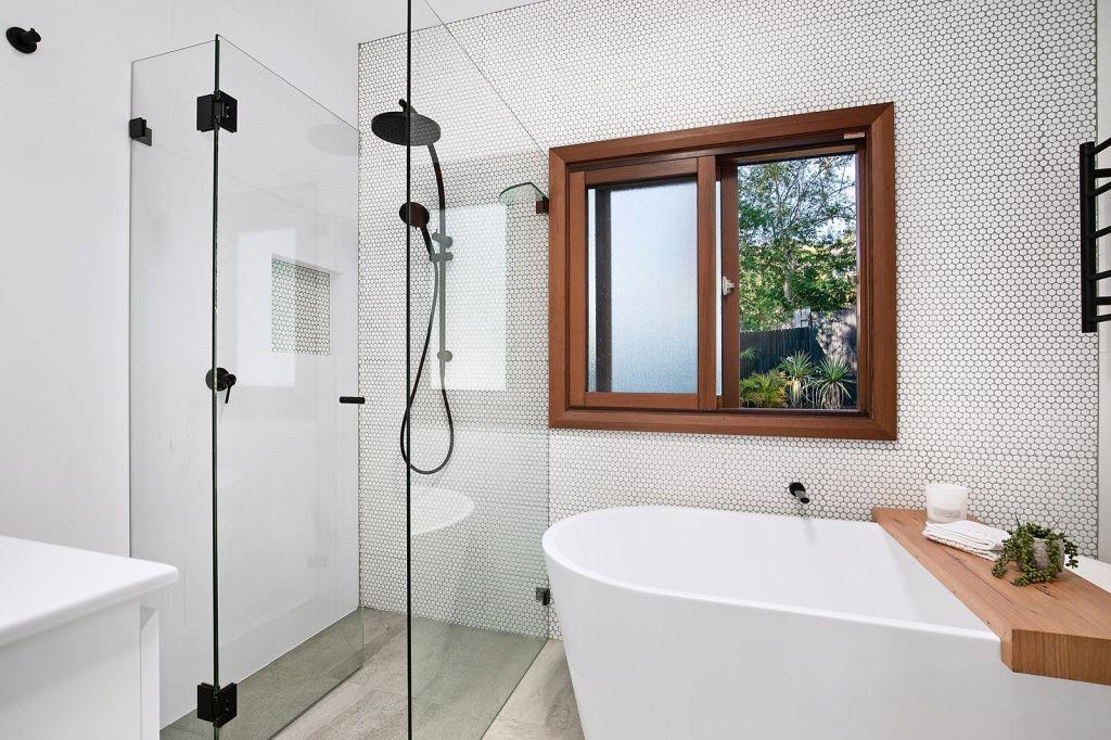 Freshly renovated bathroom