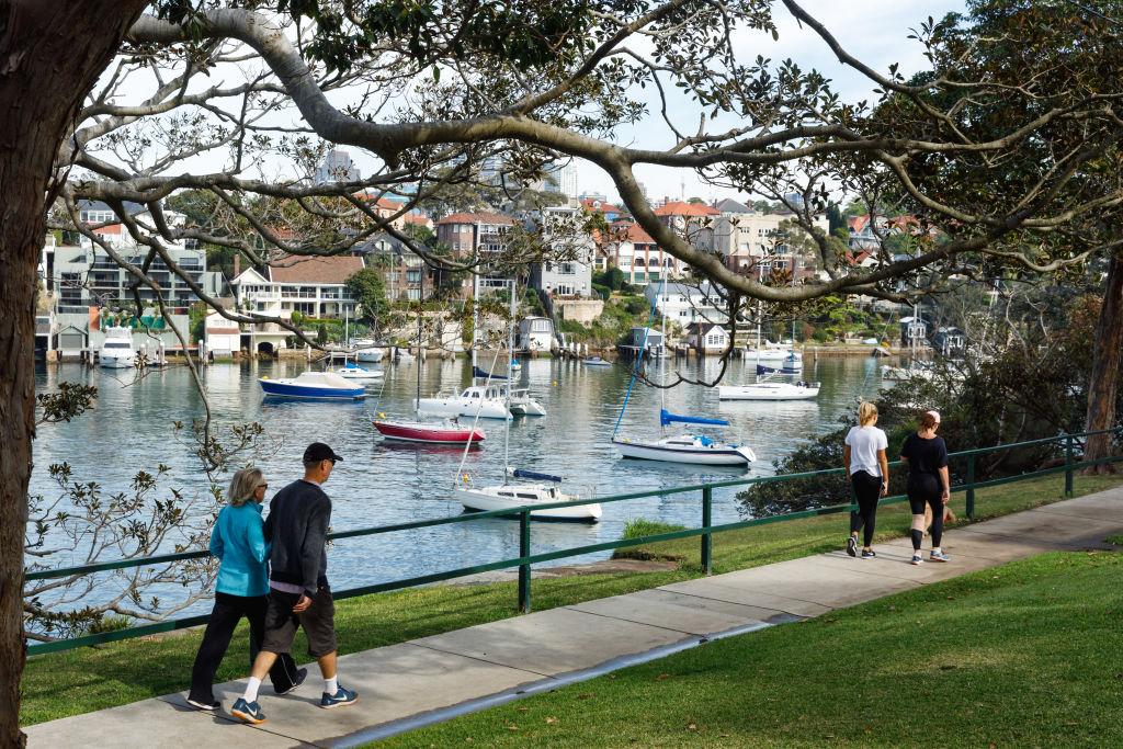 The Sydney suburb of Cremorne Point