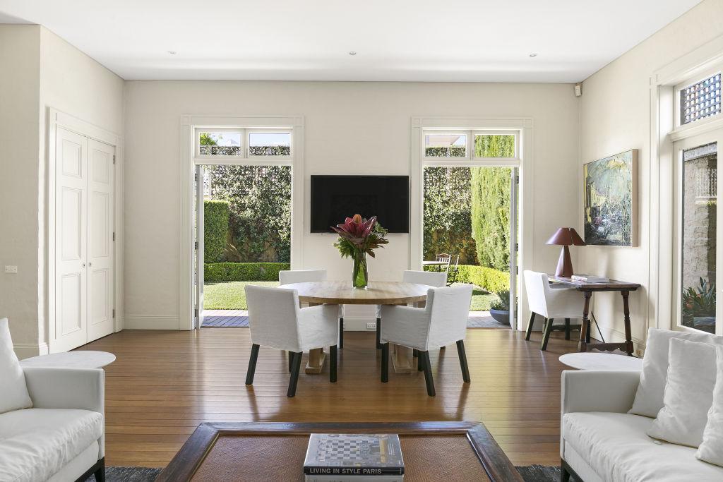 The Paddington residence was built in the 1980s for the late stockbroker Robert Ashton.