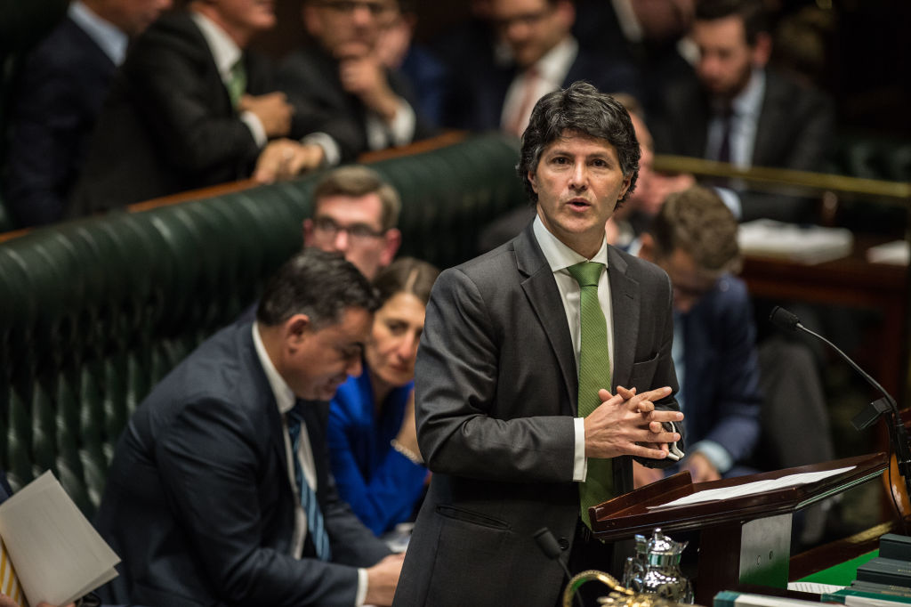 NSW Government Minister of Finance, Services and Property Victor Dominello