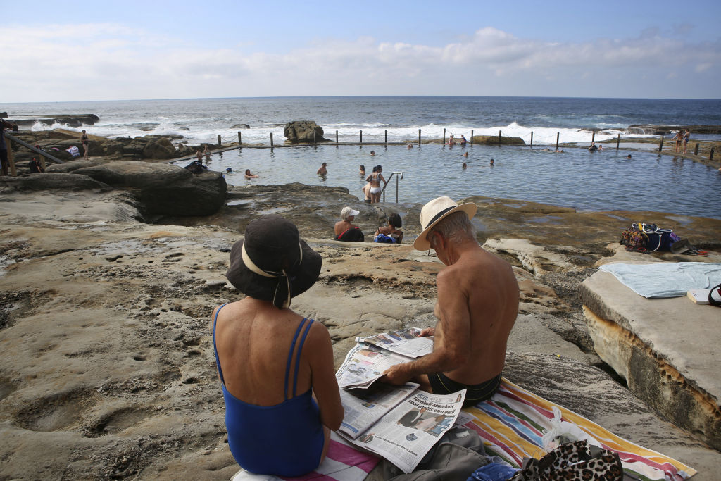 Mahon Pool in Sydney's Eastern Suburbs.