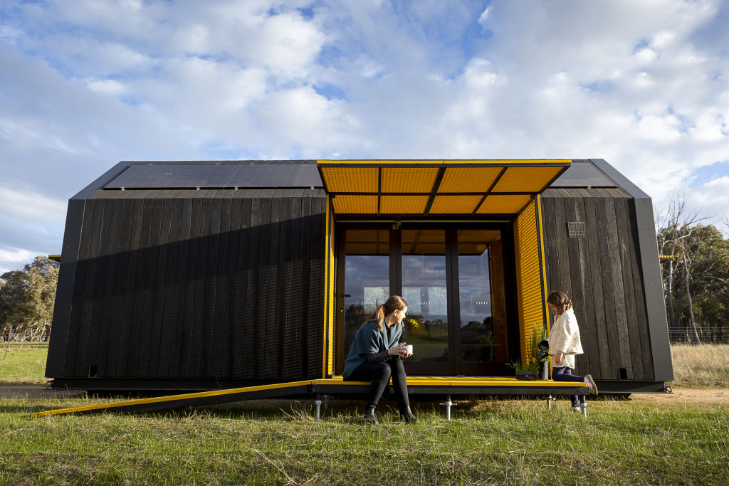 The RACV off-the-grid Tiny Home. Photo: courtesy of RACV