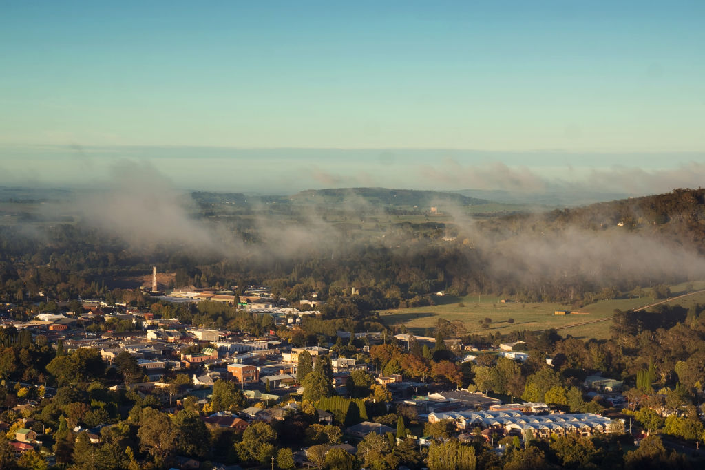 The town of Bowral in the Southern Highlands of NSW