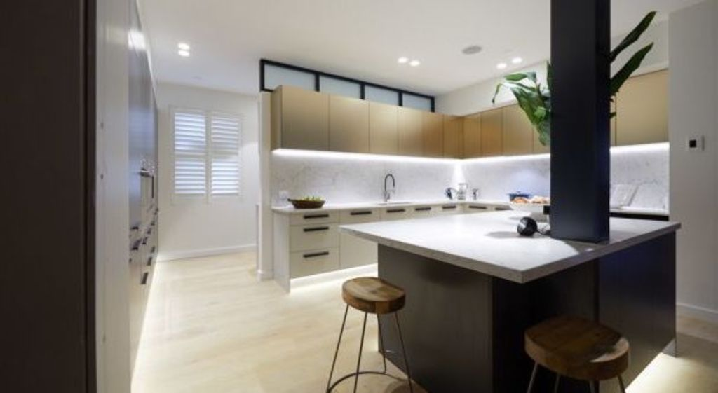 Courtney and Hans' kitchen