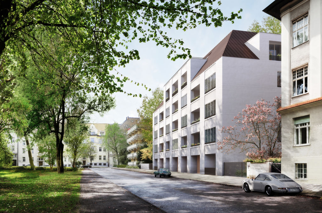 NOT FOR REUSE New residential project in Munich by David Chipperfield Architects and Euroboden