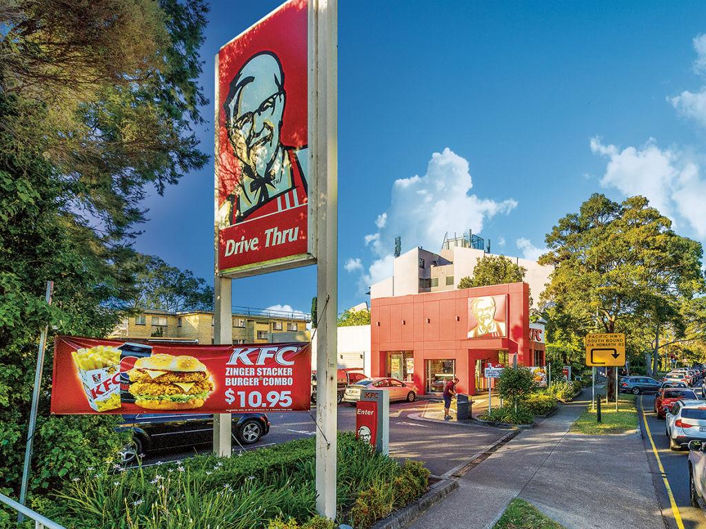 The KFC at Artarmon.