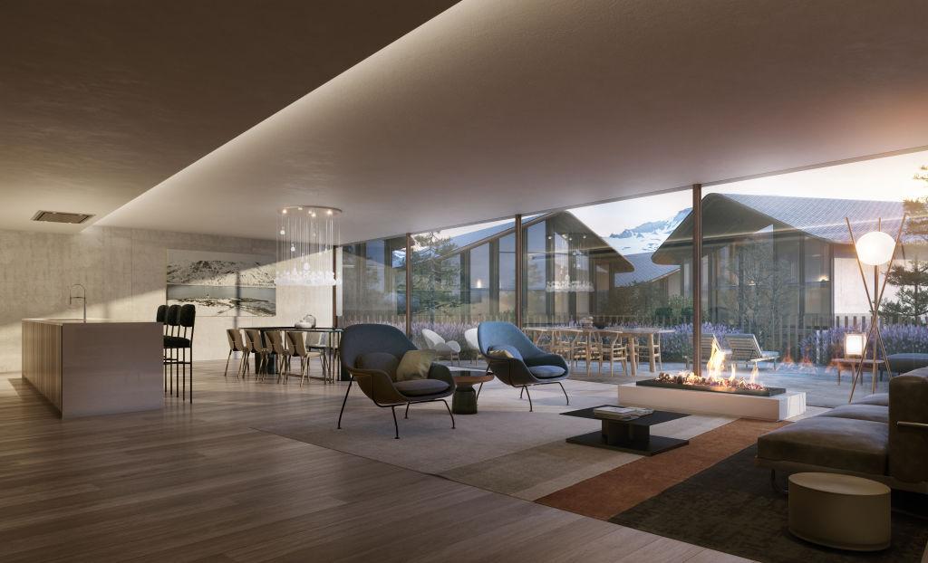 Ordino Residential Mountain Resort in Andorra NOT FOR REUSE