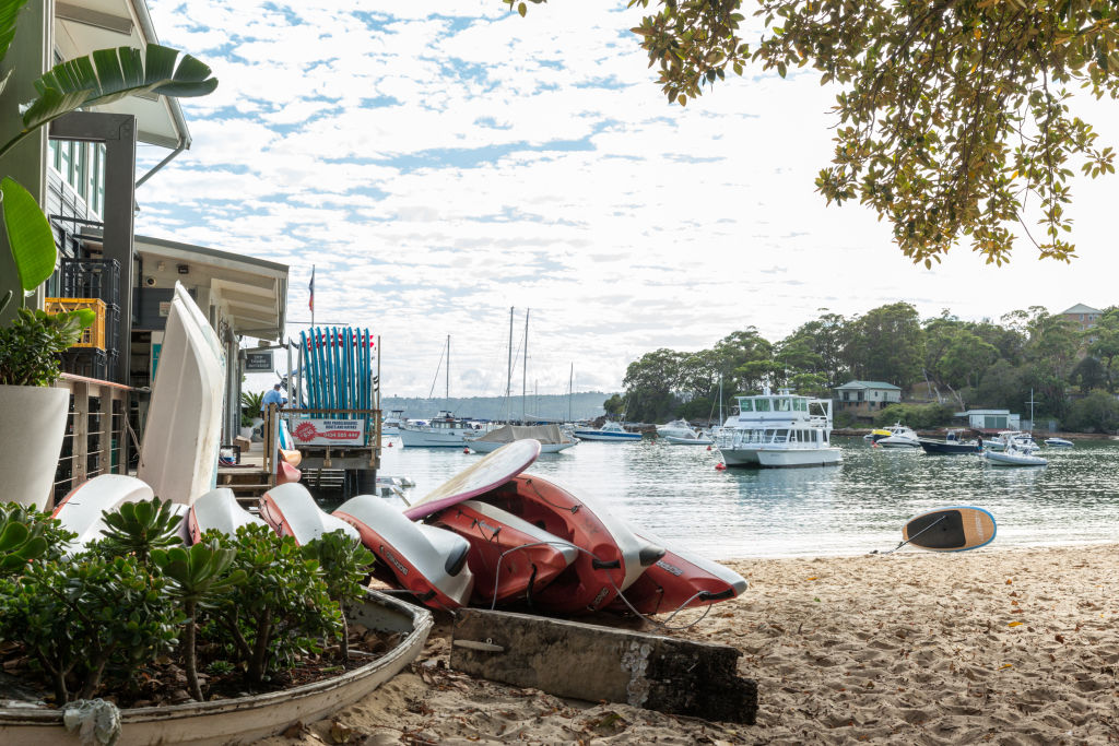 The Sydney suburb of Mosman NSW