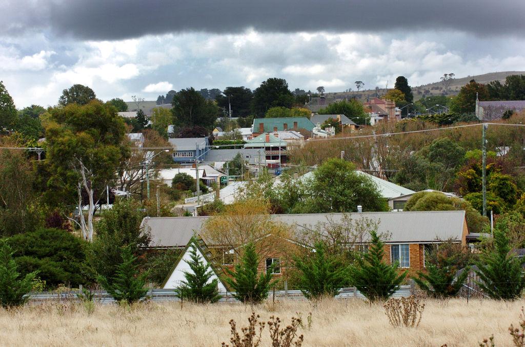 The town of Braidwood. Photo: Gary Schafer.