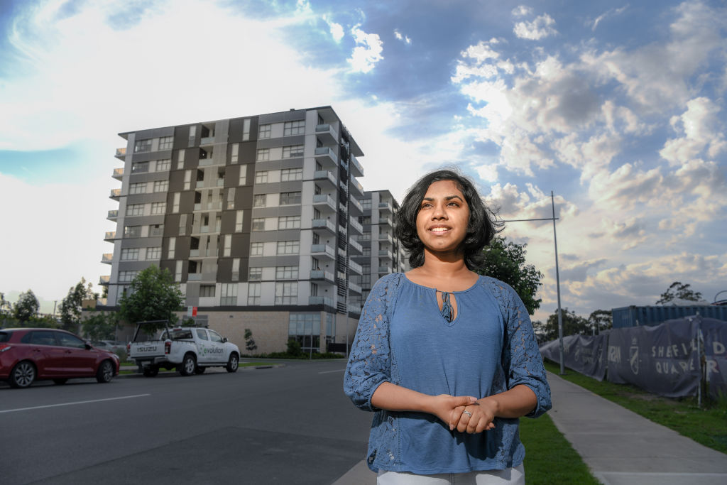 Nethangie Ranhotty lives in a new affordable housing development that is supported by the NRAS incentive.