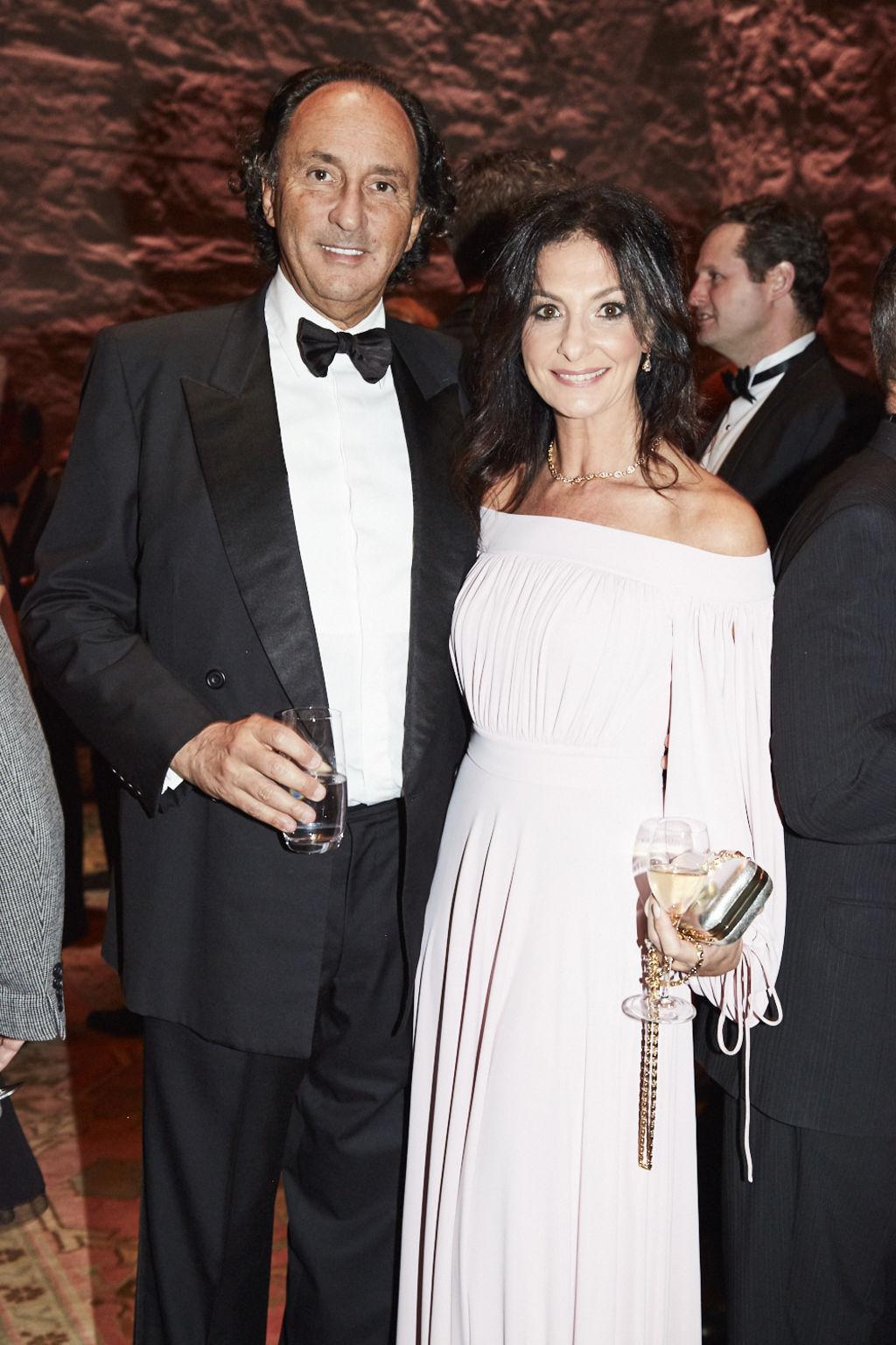 TITLE DEEDS Rodney and Lyndi Adler at Gold Dinner in Sydney 2017