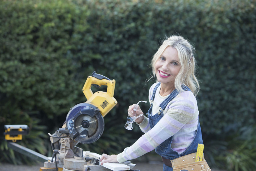 Celebrity renovator Cherie Barber